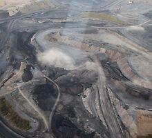 Open Cut Coal - Newcastle by Daniel Rankmore