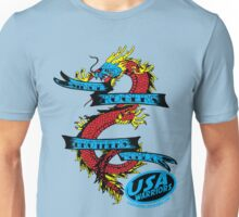 usa warriors dragon by rogers bros Unisex T-Shirt