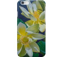 White Lotuses 1 iPhone Case/Skin