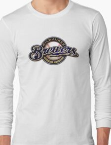 milwaukee brewers Long Sleeve T-Shirt