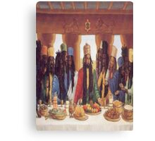 Last Supper Rasta Canvas Print
