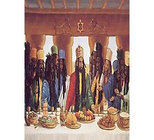 Last Supper Rasta Photographic Print