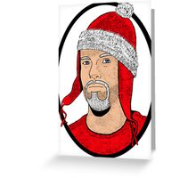 Santa Cobb Greeting Card