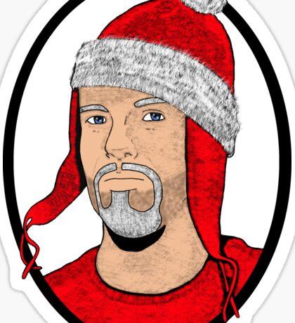 Santa Cobb Sticker