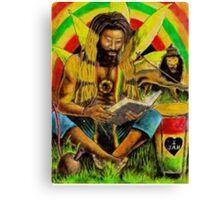 Irie Meditiation Canvas Print