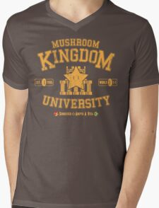 University 1-1 Mens V-Neck T-Shirt