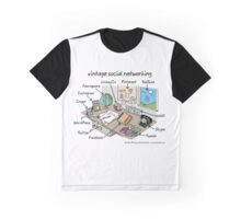 vintage social networking Graphic T-Shirt