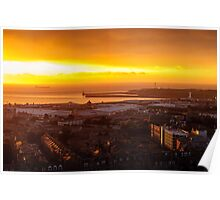 Aberdeen Sunrise Poster