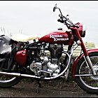 A Real English Motor Bike by Malcolm Chant