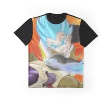 Vegeta SSJ God KO Frieza Graphic T-Shirt