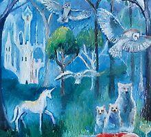 goldilocks and the three bears and three owls by RomanySteele