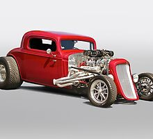 1934 Chevy Coupe by DaveKoontz