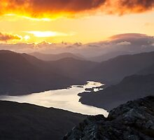 Loch Katrine Sunset by NeilBarr