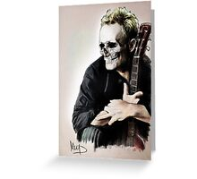Sting skull Greeting Card