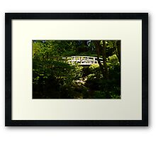 Bridge of Peace Framed Print