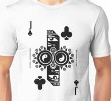 Min Jack of Clubs Unisex T-Shirt