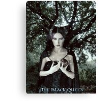 The Black Queen Canvas Print