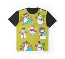 Funny snowmen Graphic T-Shirt