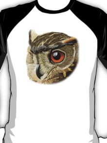 Eurasian Eagle Owl T-Shirt