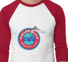 Shark Bait Ocean Swim Team Men's Baseball ¾ T-Shirt