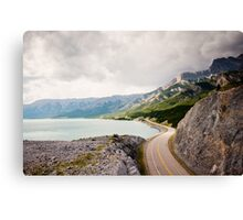 Icefields Parkway, Jasper National Park Canvas Print