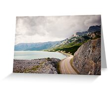 Icefields Parkway, Jasper National Park Greeting Card