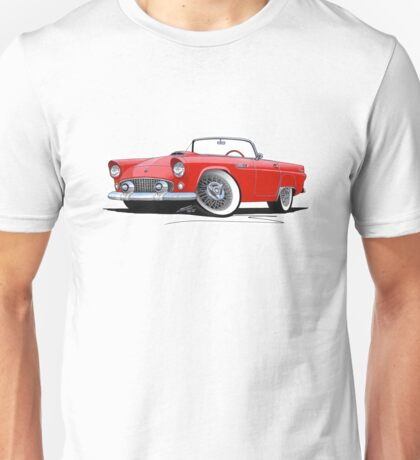 Ford Thunderbird Red Unisex T-Shirt