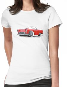 Ford Thunderbird Red Womens Fitted T-Shirt