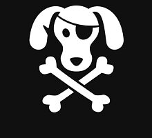 Pirate Dog  Womens Fitted T-Shirt