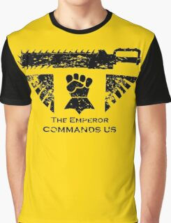 The Emperor commands us Graphic T-Shirt