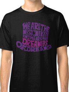 Willy Wonka Hat Dreams - Purple Classic T-Shirt