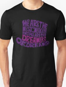 Willy Wonka Hat Dreams - Purple T-Shirt