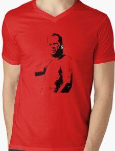 Bruce Willis - Die Hard Mens V-Neck T-Shirt
