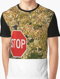 Stop Fall Graphic T-Shirt