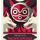 Princess Mononoke by UniqSchweick12