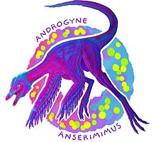 Androgyne Anserimimus (with text)  by R.A.  Faller