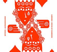 Lakshmi Queen of Diamonds by Yanko Tsvetkov