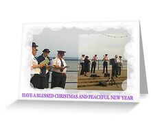 SALVATION ARMY   HAVE A BLESSED CHRISTMAS AND PEACEFUL NEW YEAR Greeting Card