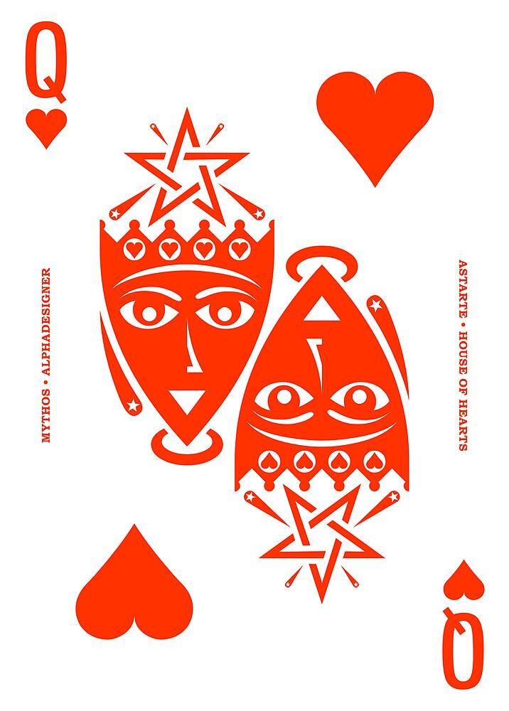 Astarte Queen of Hearts by Yanko Tsvetkov