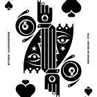 Kali Queen of Spades by Yanko Tsvetkov