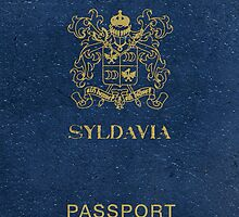 Syldavia Passport (iPhone case) by ikado