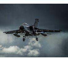 Tornado against storm clouds Photographic Print