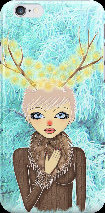 Renee the Reindeer by Monique Stute
