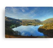 The Lake District..Grasmere Canvas Print