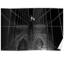 Brooklyn Bridge   New York City 2012 Poster