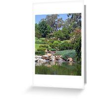 Japanese Gardens at Cowra Greeting Card
