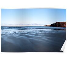 ballybunion beach on a cold winters day  Poster