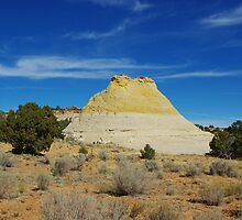 Bicoloured rock hill by Claudio Del Luongo
