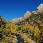 Autumn in Zion by Claudio Del Luongo