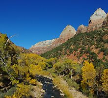 Autumn in Zion by Claudio Del Luongo